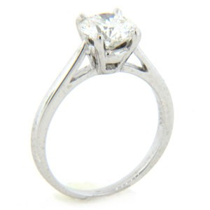 AFS-0006 Solitaire Engagement Ring
