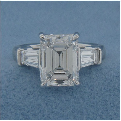 AFS-0015 Diamond Engagement Ring