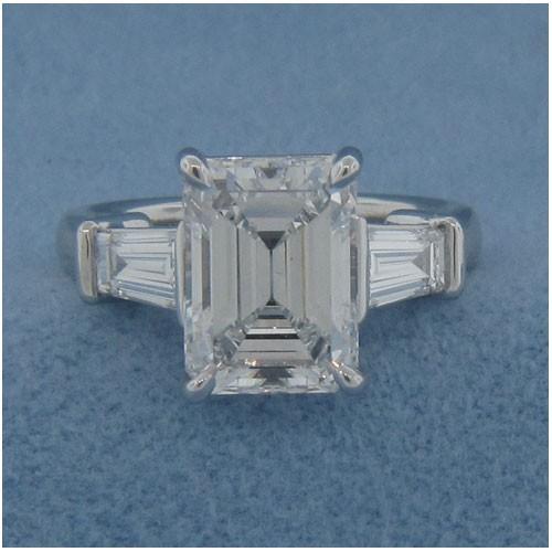 AFS-0015 Diamond Engagement Ring