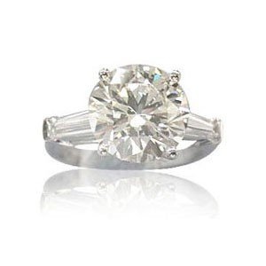AFS-0016 Diamond Engagement Ring