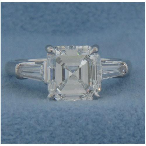 AFS-0017 Diamond Engagement Ring