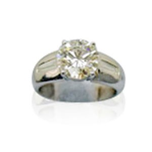 AFS-0020 Diamond Engagement Ring