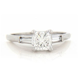 AFS-0021 Diamond Engagement Ring