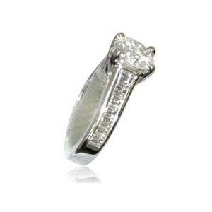 AFS-0022 Diamond Engagement Ring