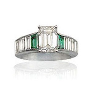 AFS-0025 Diamond Engagement Ring