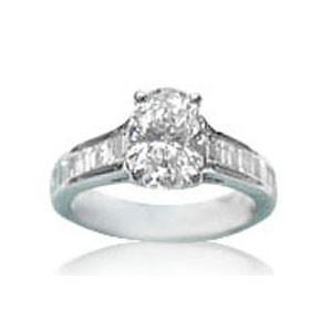 AFS-0026 Diamond Engagement Ring