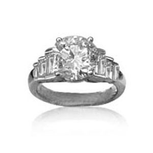 AFS-0028 Diamond Engagement Ring