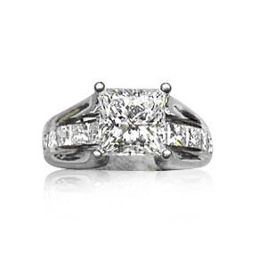 AFS-0033 Diamond Engagement Ring
