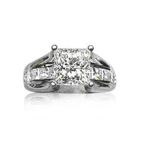 AFS-0033 Diamond Engagement Ring