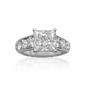 AFS-0034 Diamond Engagement Ring
