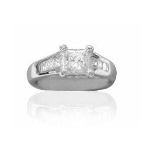 AFS-0035 Diamond Engagement Ring