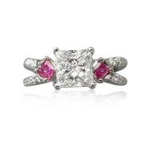 AFS-0039 Diamond Engagement Ring