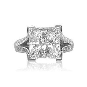 AFS-0041 Diamond Engagement Ring