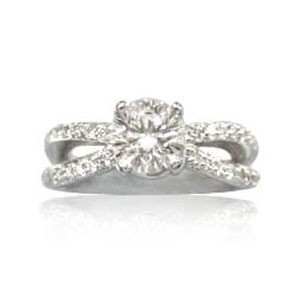 AFS-0043 Diamond Engagement Ring