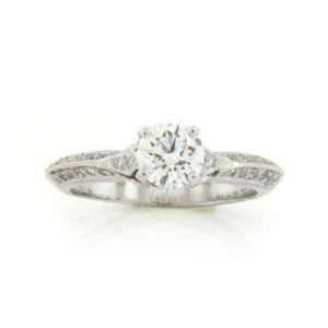 AFS-0045 Diamond Engagement Ring