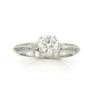 AFS-0045 Diamond Engagement Ring