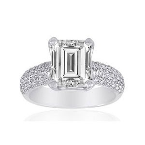 AFS-0046 Diamond Engagement Ring