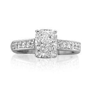 AFS-0049 Diamond Engagement Ring