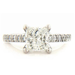 AFS-0050 Diamond Engagement Ring