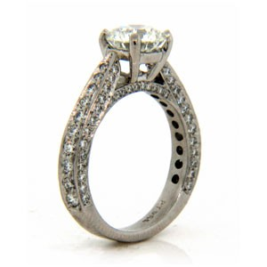 AFS-0057 Diamond Engagement Ring