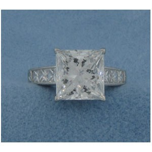 AFS-0061 Diamond Engagement Ring