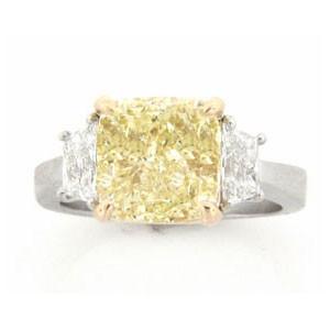 AFS-0086 Three Stone Diamond Engagement Ring