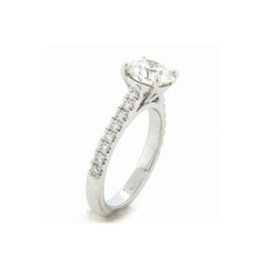 AFS-0091 Diamond Engagement Ring
