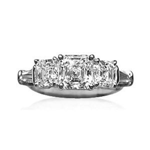 AFS-0098 Diamond Engagement Ring