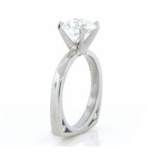 AFS-0100 Diamond Engagement Ring