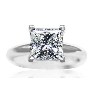 AFS-0107 Solitaire Engagement Ring