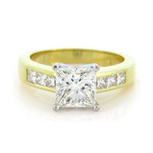 AFS-0116 Diamond Engagement Ring