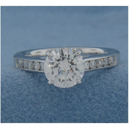 AFS-0117 Diamond Engagement Ring