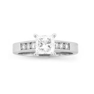 AFS-0121 Diamond Engagement Ring
