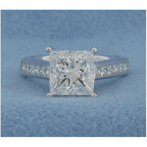 AFS-0123 Diamond Engagement Ring