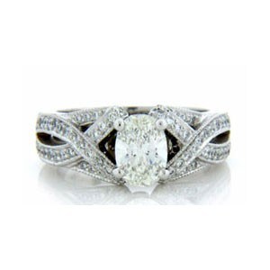AFS-0124 Diamond Engagement Ring