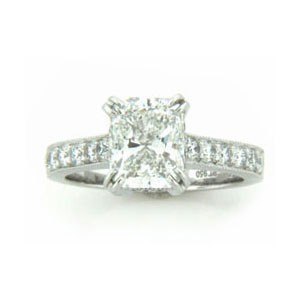 AFS-0125 Diamond Engagement Ring