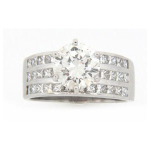 AFS-0134 Diamond Engagement Ring