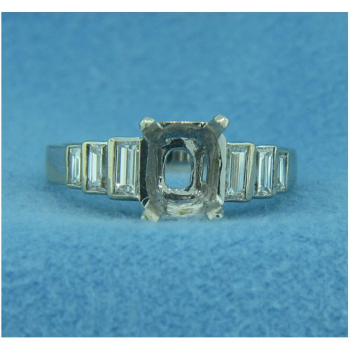 AFS-0139 Diamond Engagement Ring