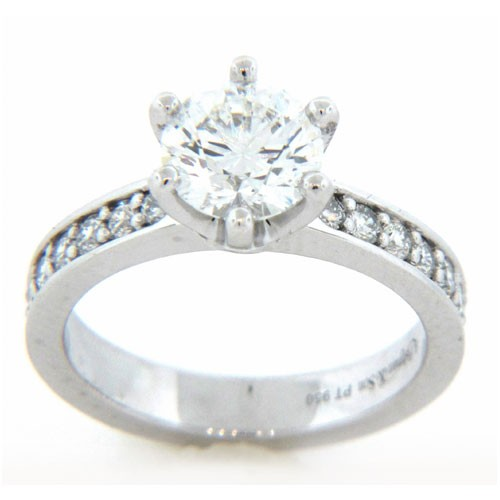 AFS-0155 Diamond Engagement Ring