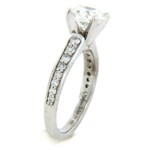 AFS-0158 Diamond Engagement Ring