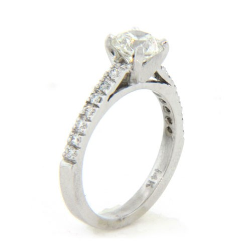 AFS-0160 Diamond Engagement Ring