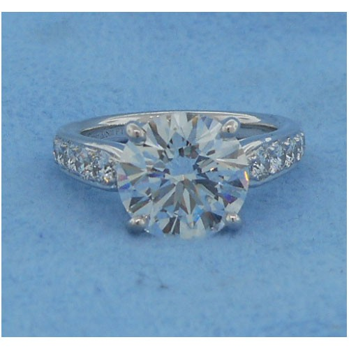 AFS-0182 Diamond Engagement Ring