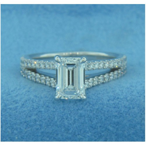 AFS-0183 Diamond Engagement Ring