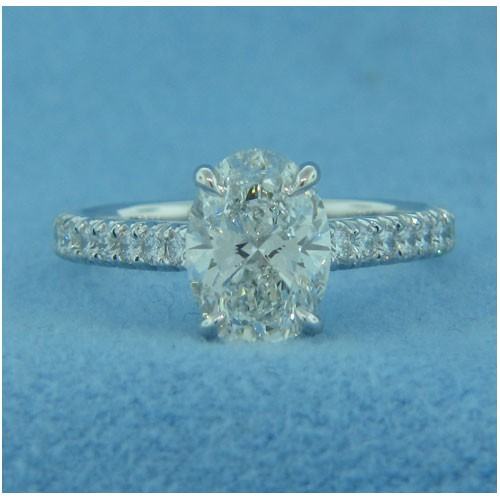 AFS-0184 Vintage Diamond Engagement Ring