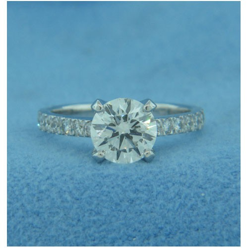 AFS-0185 Diamond Engagement Ring