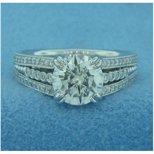 AFS-0186 Diamond Engagement Ring