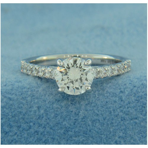AFS-0189 Vintage Diamond Engagement Ring
