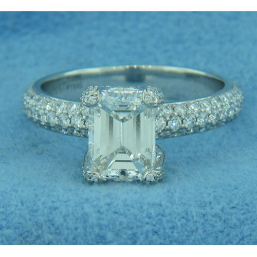 AFS-0191 Diamond Engagement Ring