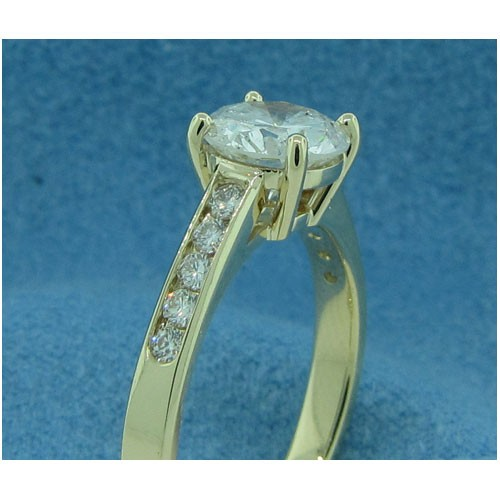 AFS-0195 Diamond Engagement Ring