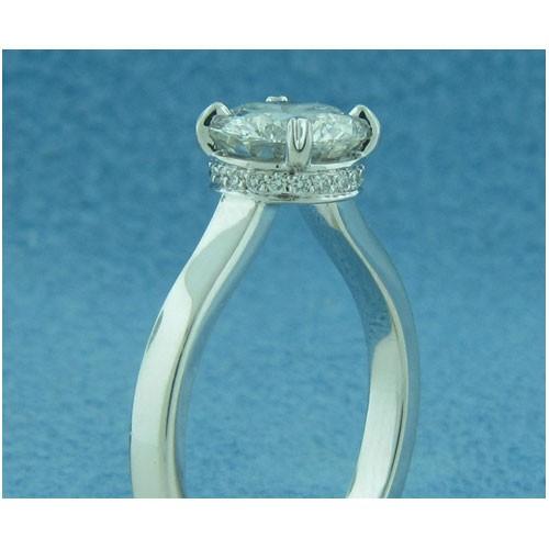 AFS-0199 Diamond Engagement Ring